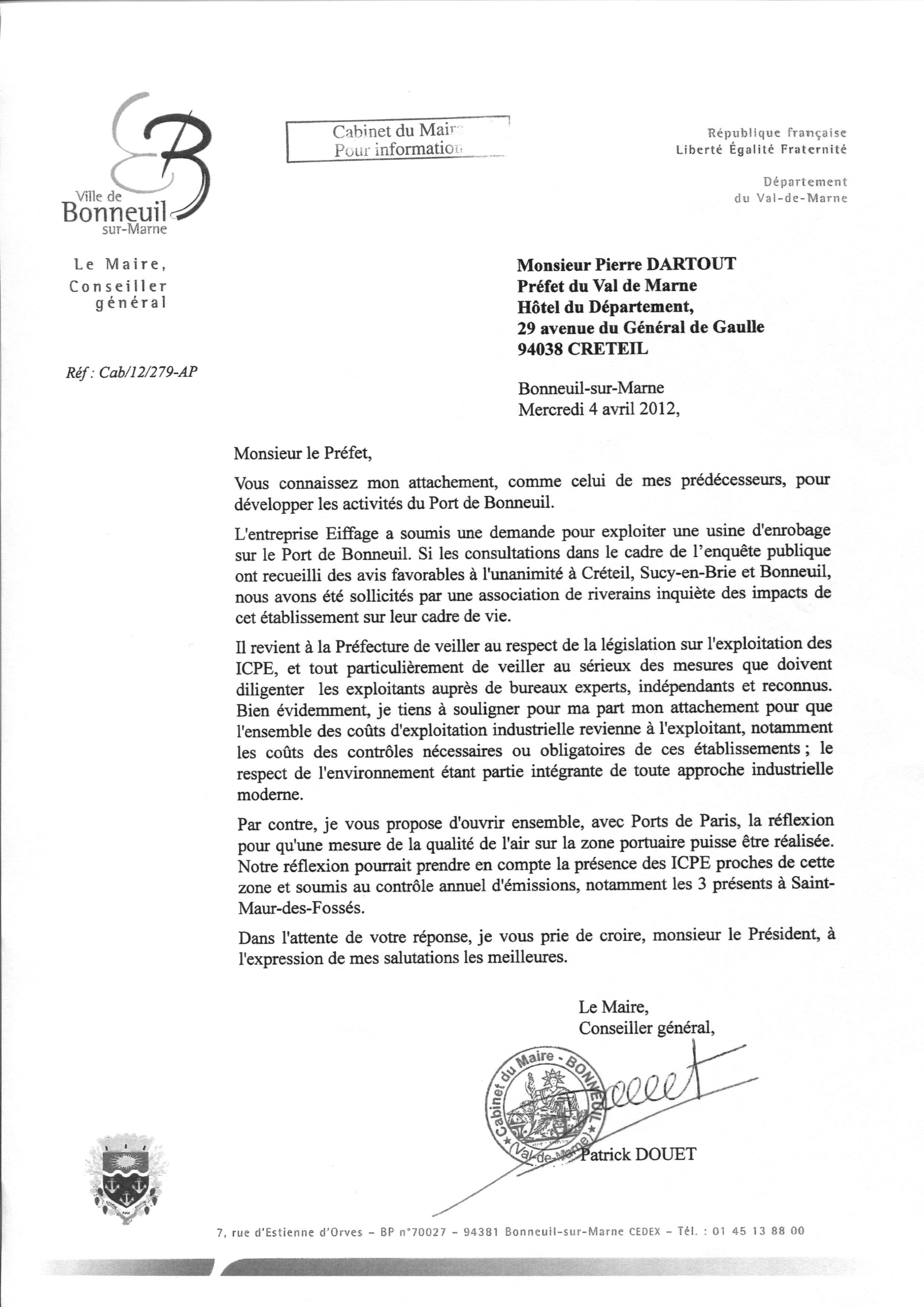 Modele de lettre d'invitation pour l'obtention d'un visa