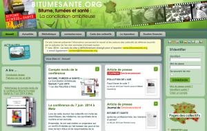 LE site de référence pour échanger entre collectifs concernés par les usines de bitume